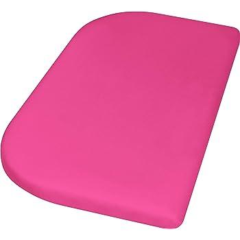 Wasserdicht und Atmungsaktiv Playshoes 770325-14 Jersey-Spannbettlaken f/ür das Beistellbett rosa 89 x 51 x 10cm rosa