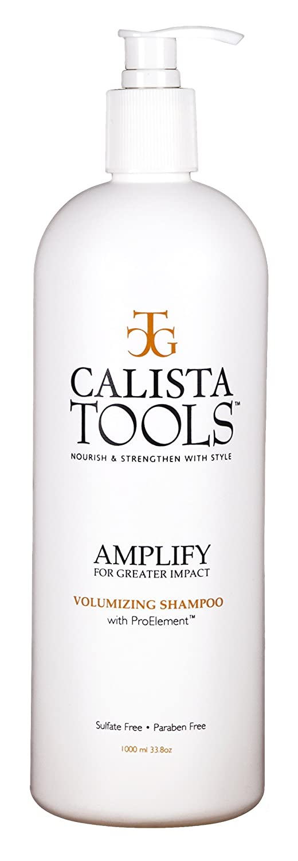 Calista Amplify Shampoo Salon Bargain sale Max 52% OFF Supersize Sham Quality Volumizing
