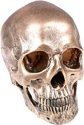 Human Skull Resin Ashtray Stash Pot Hidden Treasures Home Decor skeleton