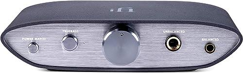 iFi Zen DAC - HiFi Desktop Digital Analog Converter with USB3.0 B Input/Outputs: 6.3mm Unbalanced / 4.4mm Balanced/RCA