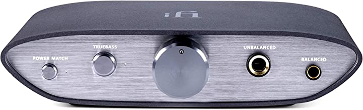 iFi Zen DAC - HiFi Desktop Digital Analog Converter with USB3.0 B Input/Outputs: 6.3mm Unbalanced / 4.4mm Balanced/RCA