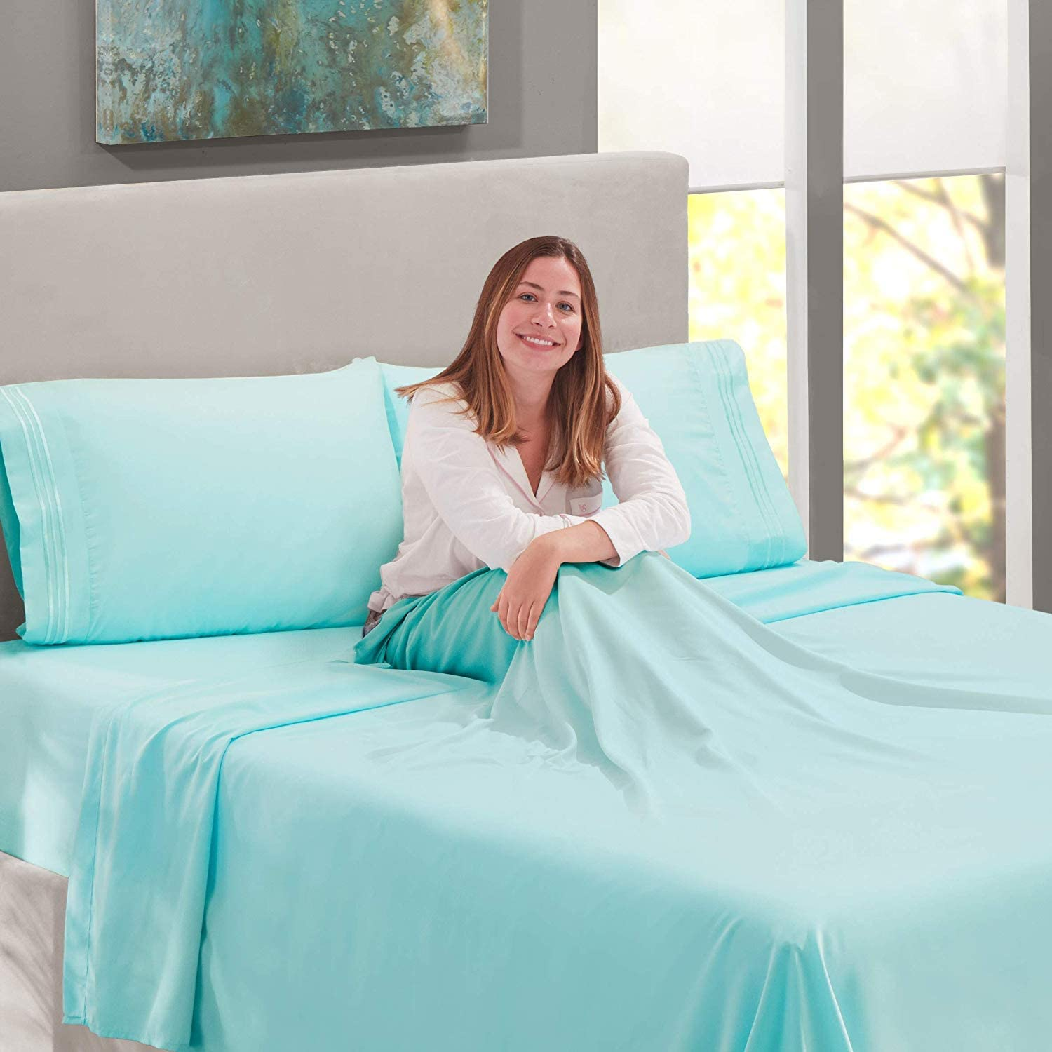 Lamma Loe Supreme 1500 Series 4pc 1 year We OFFer at cheap prices warranty Sheet Set 100% - Bed Manufactu