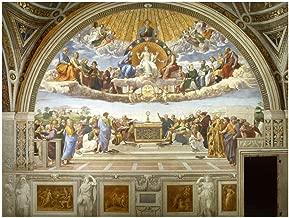 Spiffing Prints Raphael - Disputation of The Holy Sacrament - Extra Large - Matte - Unframed