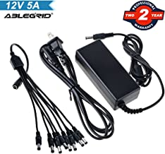 CCTV Security Camera Power Supply Adapter w// 4-way splitter 12VDC 2A 2000mA