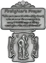 All Patron Saints Saint Florian Firefighter Prayer Auto Visor Clip