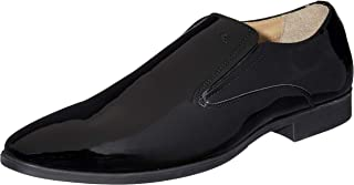 Arrow Men's Black Leather Formal Shoes-7 UK/India (41 EU) (2521905505)