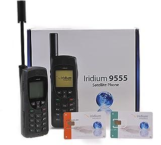 Iridium 9555 Teléfono vía satélite con Tarjeta SIM de Prepago GRATUITA