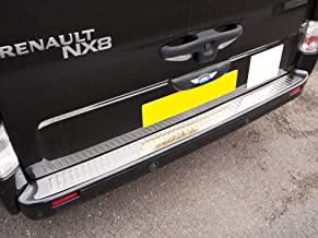 Demon Styling Rear Bumper Stainless Steel Cover in Brushed Chrome for Citroen Berlingo 2008 on