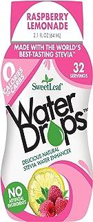 SWEET LEAF - WaterDrops, Raspberry Lemonade - 1.62 fl. oz. (48 ml)