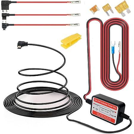 Gebildet Dash Cam Hardwire Kit Mini Usb 12v 24v Bis 5v Niederspannungsschutz Acn Acs Acu Fügen Sie Einen Sicherungshalter Für Die Schaltung Hinzu Baumarkt