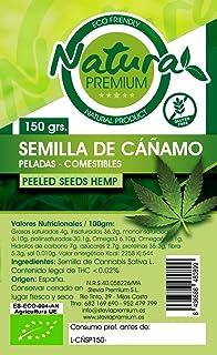 Natura Premium Cañamo - Semilla Pelada Bio 150 g