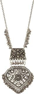 Fashion Turkish Style Beaded Long Pendant Necklace for Women Boho Gypsy