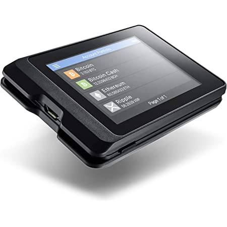 Secux W20 Sicherstes Crypto Hardware Portemonnaie Mit Computer Zubehör