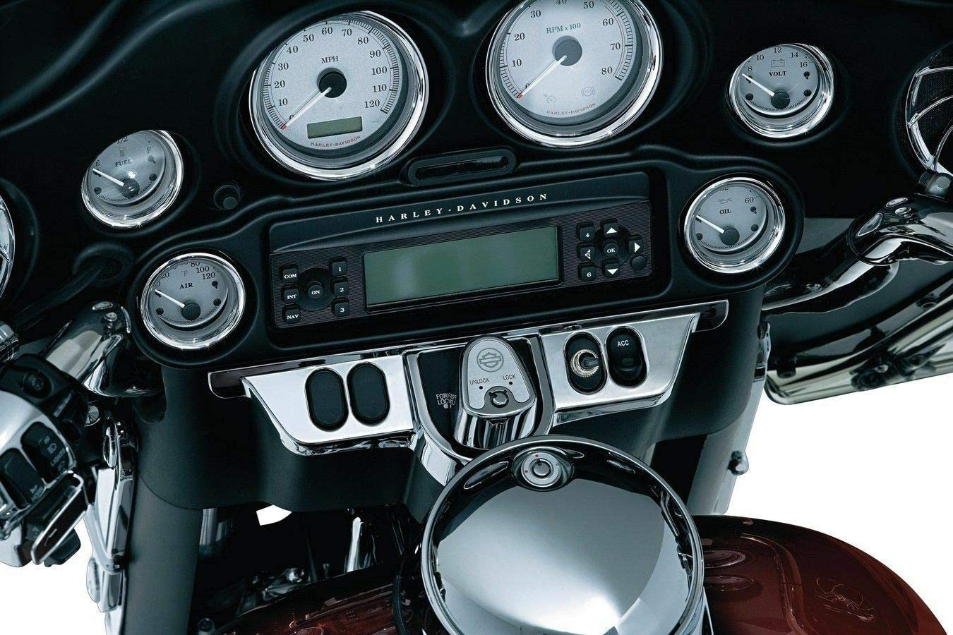 RPM Compatible with Kuryakyn Batwing Limited price sale latest Chrome Dash