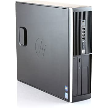 HP Elite 8300 - Ordenador de sobremesa (Intel Core i7-3770, 8GB de RAM, Disco SSD 240GB, Lector DVD,WiFi PCI, Windows 10 Pro ES 64) - Negro (Reacondicionado)
