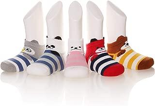 5 Pack kids Girls boys Low Cut Cotton Soft Cartoon Cute Breathable Socks