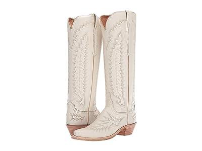 Lucchese Priscilla (Cream) Cowboy Boots