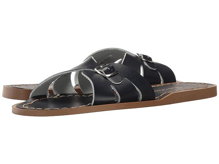 Salt Water Sandal by Hoy Shoes  Classic Slide (Big Kid/Adult) (Navy) Girls Shoes