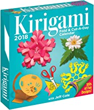 Kirigami Fold & Cut-a-Day 2018 Calendar