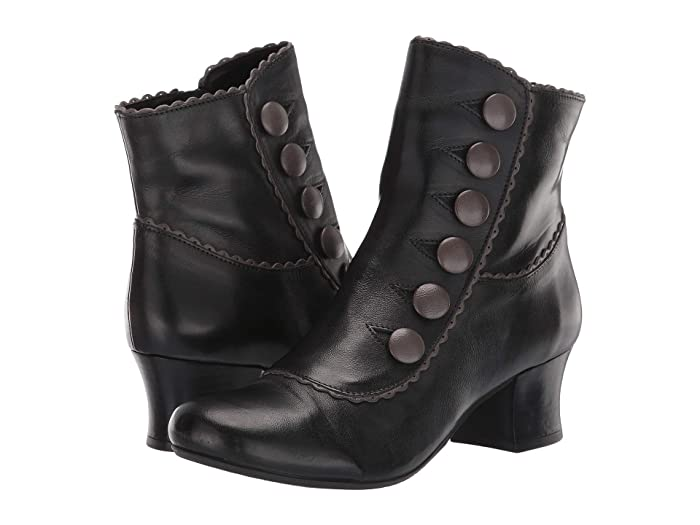 Vintage Boots- Buy Winter Retro Boots Miz Mooz Fido BlackGrey Womens Shoes $104.97 AT vintagedancer.com