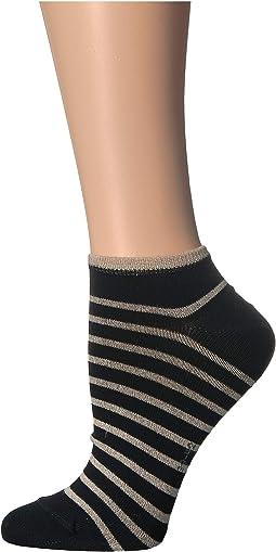 Nautical Shimmer Sneaker Sock