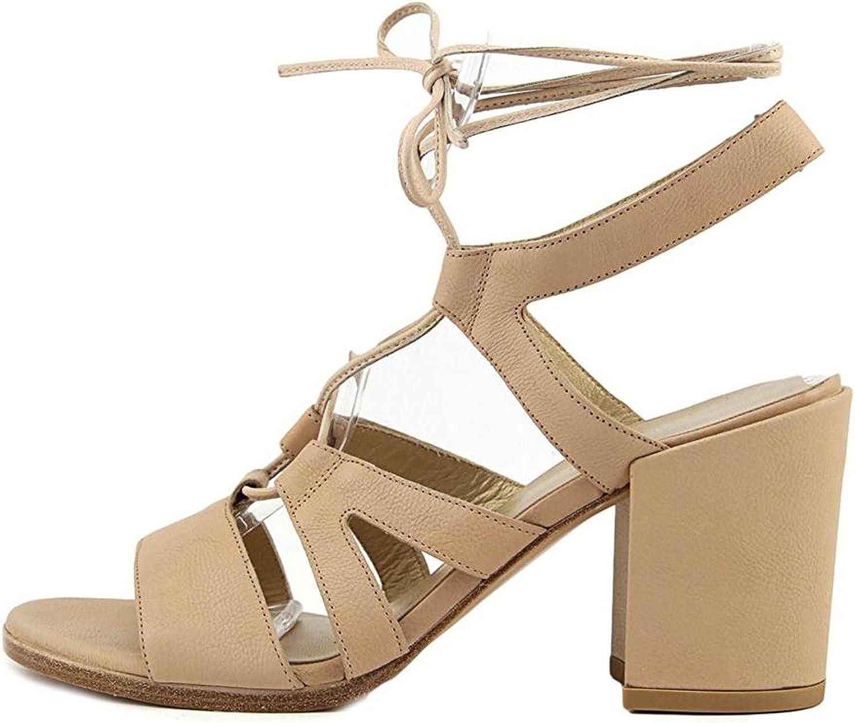 Stuart Weitzman Womens Tie Girl Bingo Leather Open Toe Casual Strappy Sandals