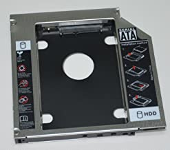 Deyoung 2nd SATA HDD SSD Hard Drive Caddy for Dell Vostro 1540 1320 1450 1520