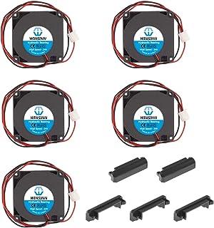 WINSINN 4010 - Ventilador de rodamiento hidráulico de 5 V, 12 V, 24 V CC, 40 mm, 40 x 40 x 10 mm, refrigeración sin escobillas para impresora 3D 4010 24 V