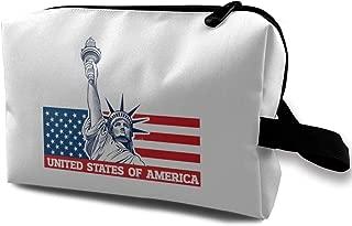 Statue of Liberty Makeup Bag for Purse Travel Makeup Cosmetic Bag