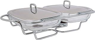 Chef Inox Food Warmer, Silver/ClearGlass