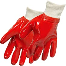 Silverline 447137 PVC Gloves, Red