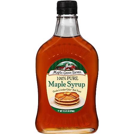 Maple Grove Farms Pure Maple Syrup, 12.5 oz