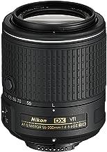 Nikon AF-S DX NIKKOR 55-200MM f/4-5.6G ED Vibration Reduction II Zoom Lens with Auto Focus for Nikon DSLR Cameras (Renewed)