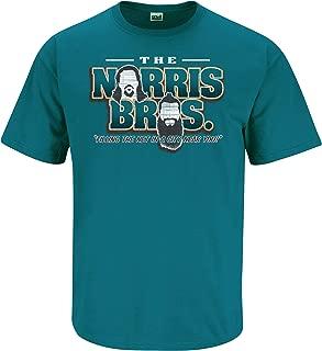 Nalie Sports San Jose Hockey Fans. Norris Bros Teal T-Shirt (Sm-5X) (Sm-5X)