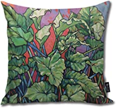 Emonye Wild Callas. Oil On Composition Board 2017 Throw Pillow Home Decoration Pillowcase 18inch × 18inch(45cm×45cm) Breathable and Hypoallergenic