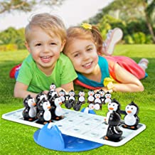 Ranoff Seesaw Balanced Penguin Toy Set Desktop Toys Intelligence Development Brain Teaser Toys Fun Board Game Party Game Kids Toys