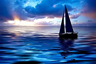 Diamond Painting Ships Full Drill by LUHSICE, 60x90cm