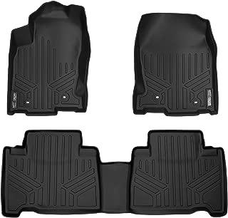 MAXLINER Floor Mats 2 Row Liner Set Black for 2015-2018 Lexus NX200t / NX300 / NX300h