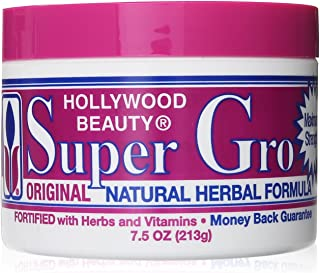 Hollywood Beauty Super Gro Herbal Formula, 7.5 Ounce