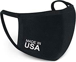 Reusable Face Mask USA Made Washable Antimicrobial Cloth for Nose and Mouth