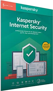 Kaspersky Internet Security 2020 Standard | 5 Geräte | 1 Jahr | Windows/Mac/Android | Aktivierungscode in frustfreier Verp...