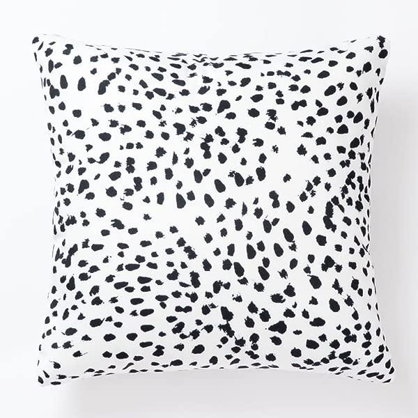 Pantaknot Set Of 2 Dalmatian Spots Decorative Throw Pillow Covers Dog Dots Pillowcase Cushion Home D Cor 18 X 18 Inch