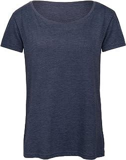 B&C Womens/Ladies Favourite Organic Cotton Triblend T-Shirt