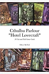 """Cthulhu Parlour """"Hotel Lovecraft"""": Cut and fold Game-Cards Paperback"""