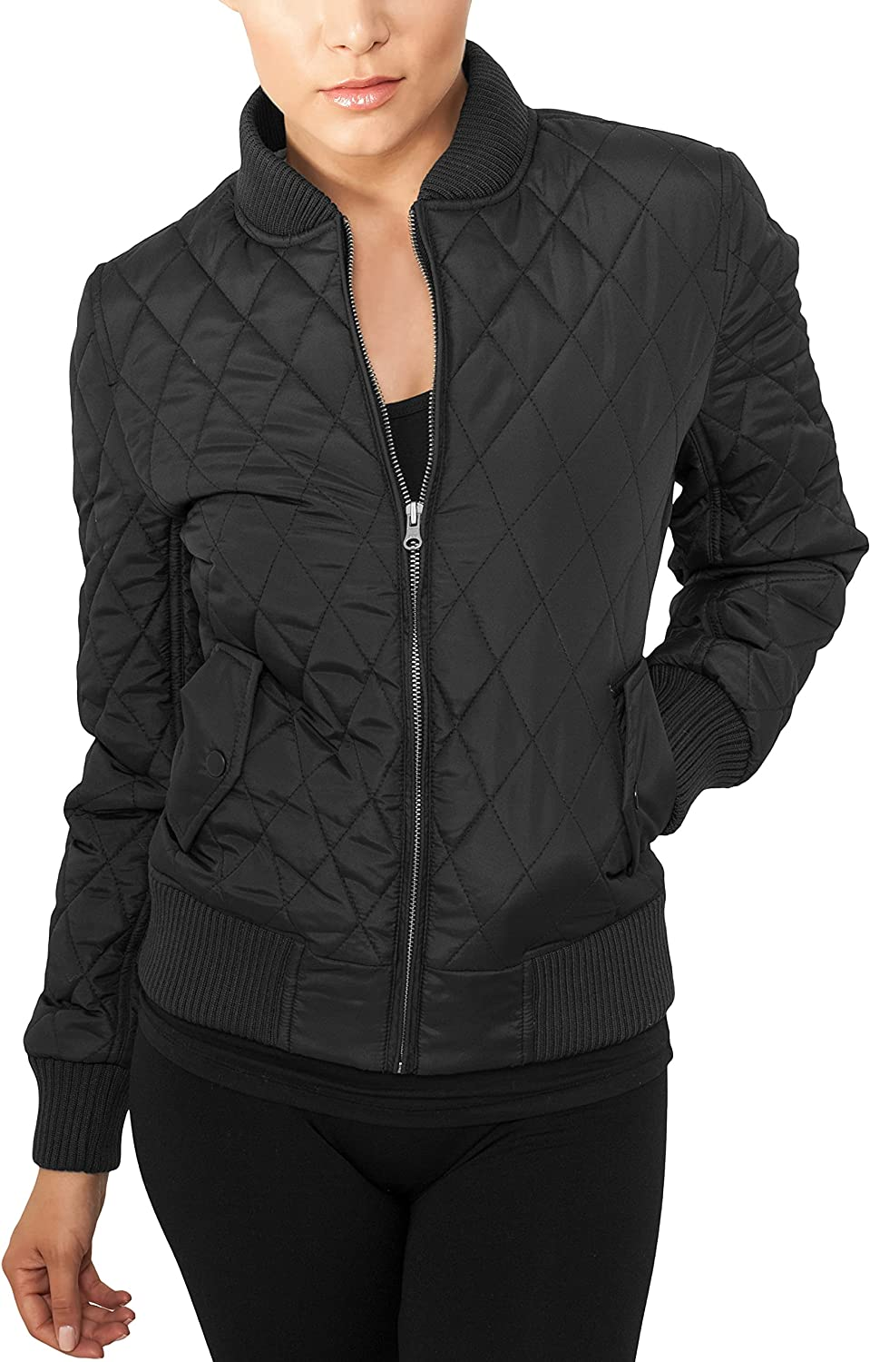 Urban Classics Ladies Light Jacket sold out Diamond Ny Quilt store TB806
