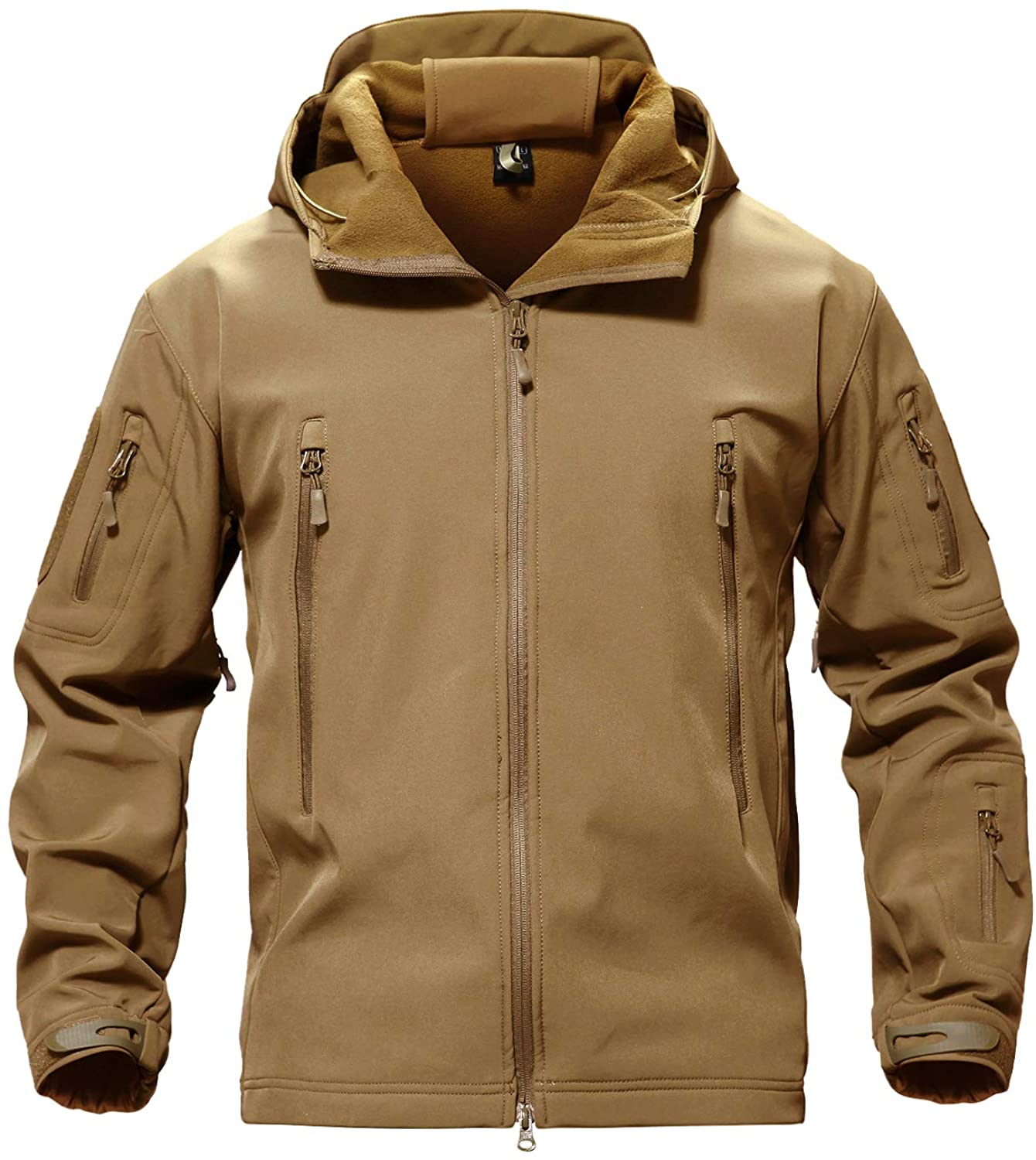 TACVASEN Men's Special Ops Military Shell Soft Jacket Max Max 76% OFF 46% OFF Tactical C