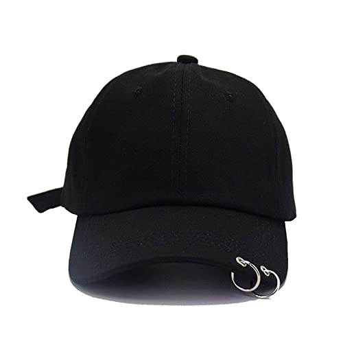 2c4a2233144 BTS Embroidery Rings Baseball Cap for Women Men K-Pop Hip Hop Bangtan Boys  Casual