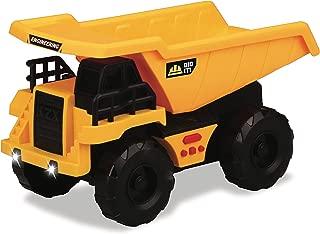 Kid Galaxy Dump Truck. Light & Sound Construction Vehicle. Friction Toy Car Dumptruck