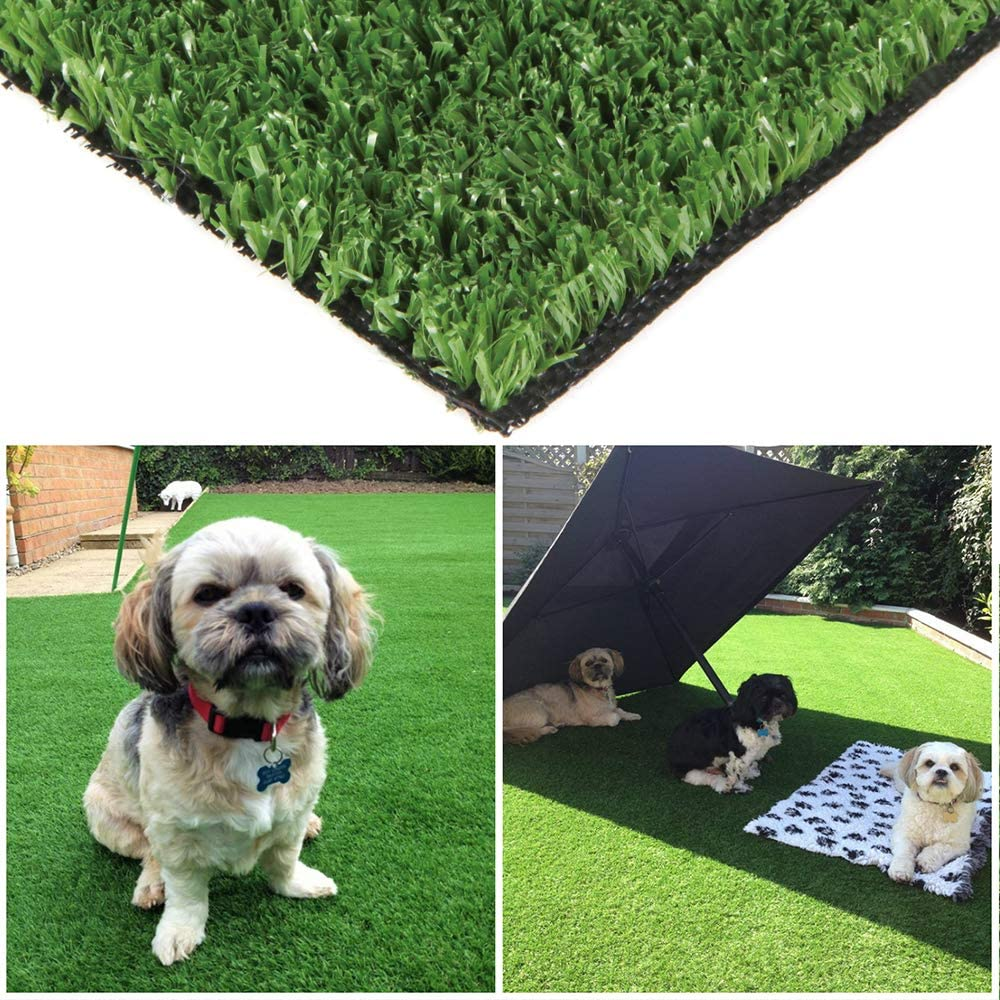 Green Pasture Artificial Grass Turf 5ft x 7ft ft w Drain 訳あり 35 実物 sq