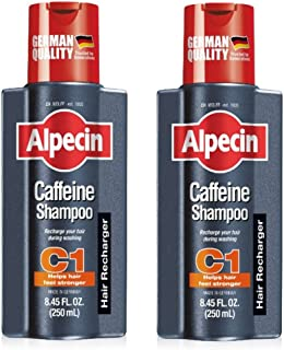 (C1 Shampoo (Pack of 2)) - 2 X Alpecin Caffeine Shampoo